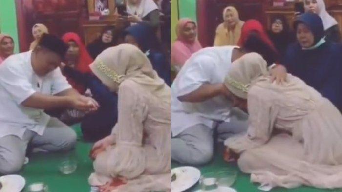 Nikahkan Putrinya, Ayah Menangis Tersedu-sedu, Ternyata ini Alasannya