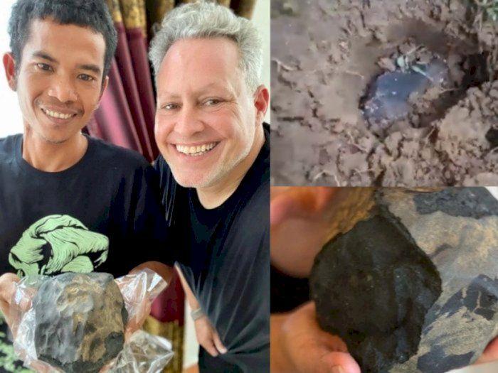 Kecewa, Pria yang Ketiban Batu Meteor Senilai 26 M Hanya Dapat 200 Juta