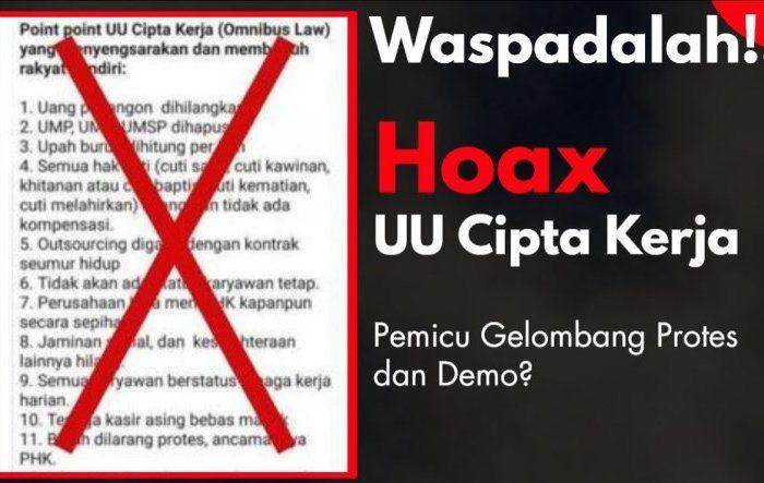7 Hoax dan Fakta Omnibus Law UU Cipta Kerja yang Diungkap Kominfo