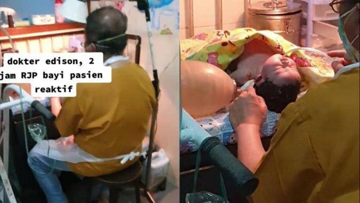 Perjuangan Dokter Rawat Bayi Covid-19, CPR Selama 2 Jam Tanpa Henti