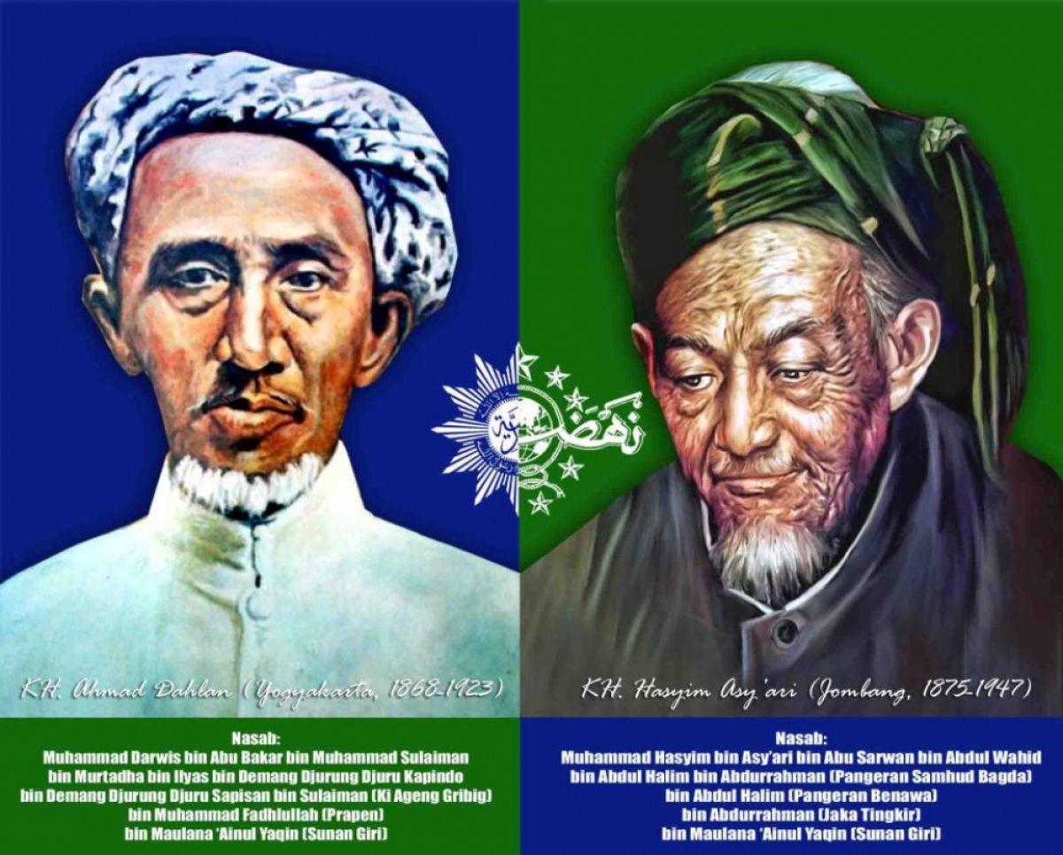 Dibalik Kisah Pendiri NU & Muhammadiyah, Satu Ilmu Satu Guru