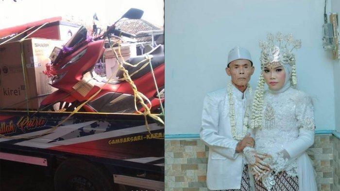 Tajir Melintir, Ini Mas Kawin dan Seserahan Abah Sarna untuk Istri, Diangkut 2 Mobil Pick Up
