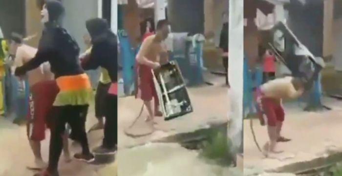 Ngamuk, Pria ini Banting Kompor, Pulang Kerja Tak Ada Makanan, Istri Malah Senam