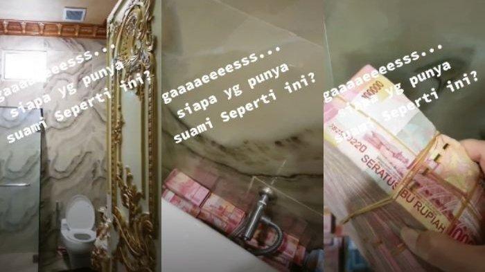 Istri Sebut Suami Licik, Diam-diam Sembunyikan Tumpukan Uang di Toilet