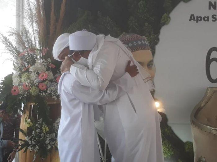 Masyaallah, Bikin Haru, Akbar Bertemu Calon Ayah Asuhnya, Syekh Ali Jaber