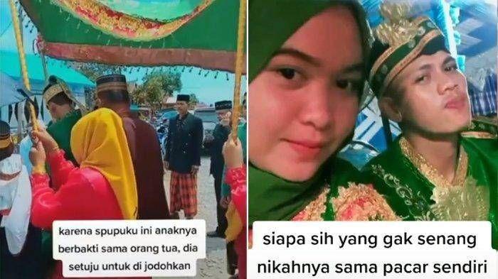 Ikhlas Dijodohkan Orang Tua Berbuah Manis, Pria ini Nikah dengan Pacar Sendiri