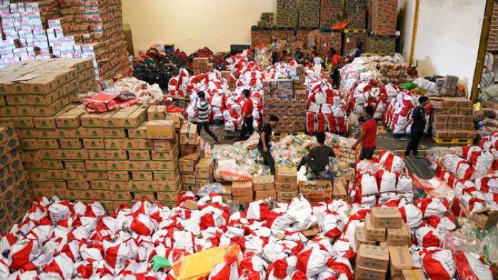 Polisi Usut 50 Ribu Paket Bansos Covid-19 yang Terbengkalai di Gudang