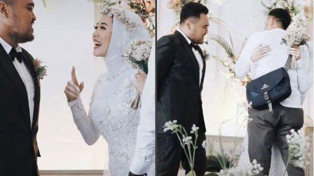 Heboh, Video Istri Izin Pada Suami untuk Peluk Mantan Saat Pesta Pernikahan