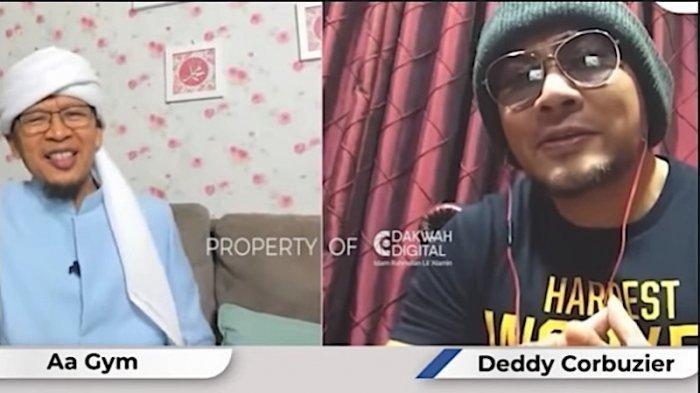 Aa Gym Ingatkan Deddy Corbuzier tentang Utangnya sebagai Seorang Muslim