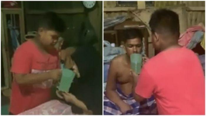 Pilu, Bocah 12 Tahun Bersihkan BAB Ortu yang Stroke dan Masak Sendiri