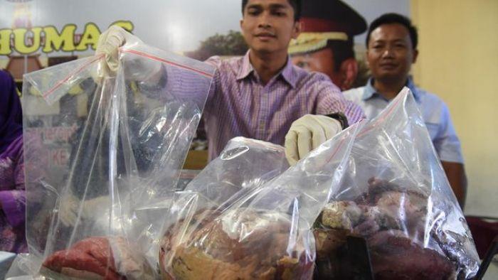 Ngeri, Daging Babi 63 Ton Disulap Jadi Daging Sapi, Laris Manis di 3 Kecamatan ini