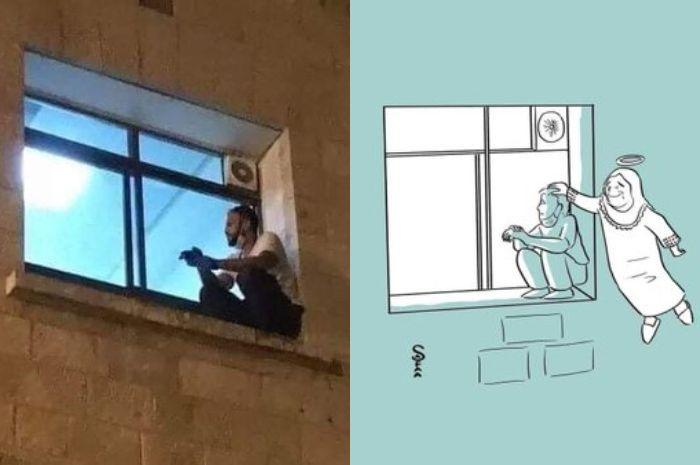 Haru, Pria ini Nekat Panjat Tembok RS, Demi Melihat Detik-detik Terakhir Sang Ibu