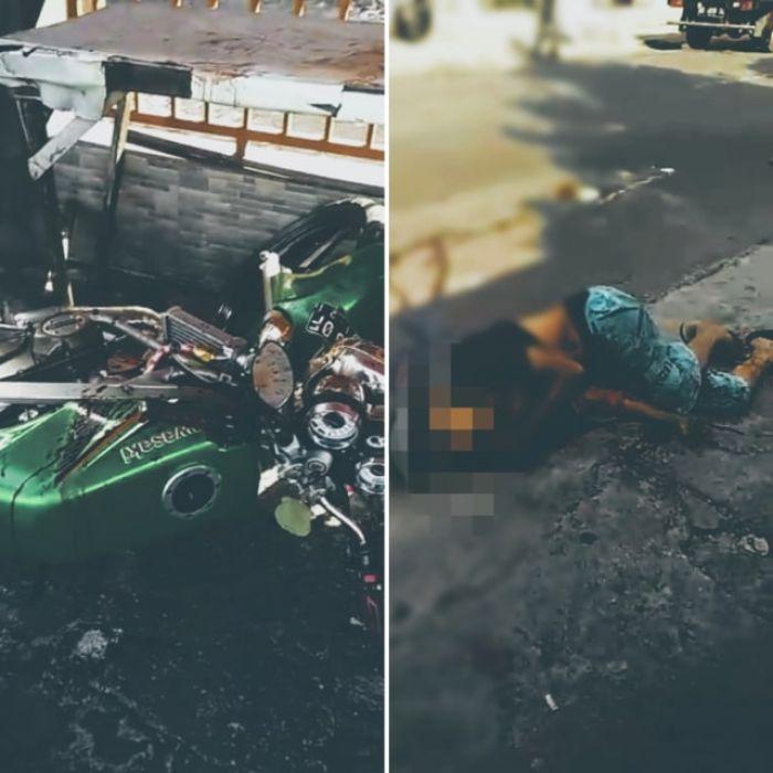 Pria Tewas Seketika karena Kebeler Benang Layangan di Jalan