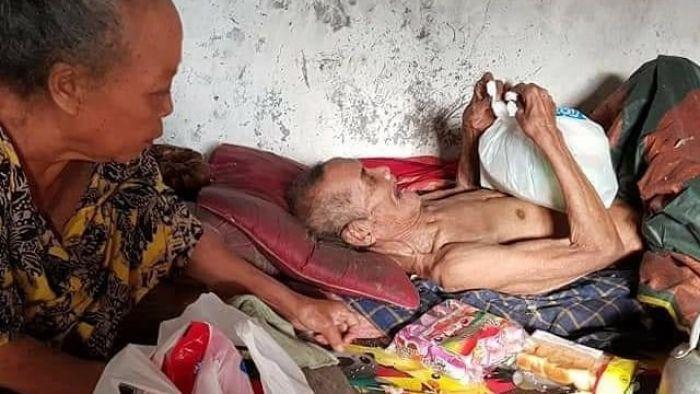 Miris, Mbah Sarani Terpaksa Makan Kapuk Bantal karena Tak Punya Makanan