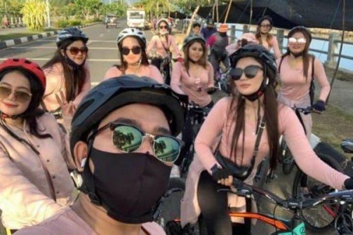 Viral! Rombongan Pesepeda Wanita di Aceh Dikecam karena Langgar Syariat Islam