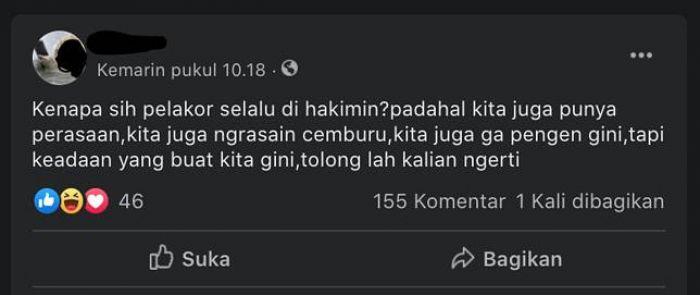 Heboh, Ada Komunitas Pelakor Indonesia di Facebook, Dilabrak Para Istri Sah