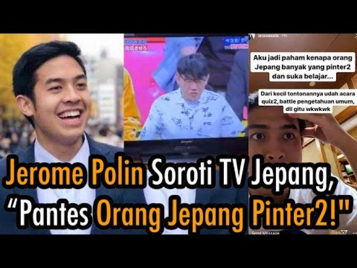 Kagum dengan Acara TV di Jepang, Jerome Polin Bandingkan dengan Indonesia