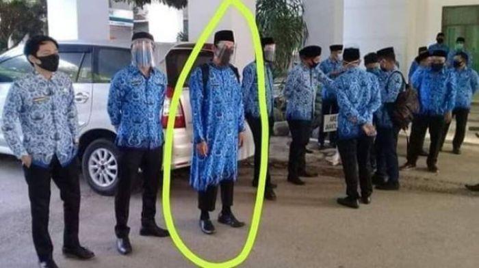Viral, Entah Apa yang Dipikirkan, Baju ASN ini Mirip Model Pakaian Khas Afghanistan