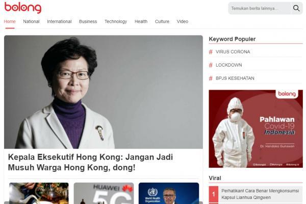Bolong, Media Inspiratif Bahas Lengkap Tiongkok