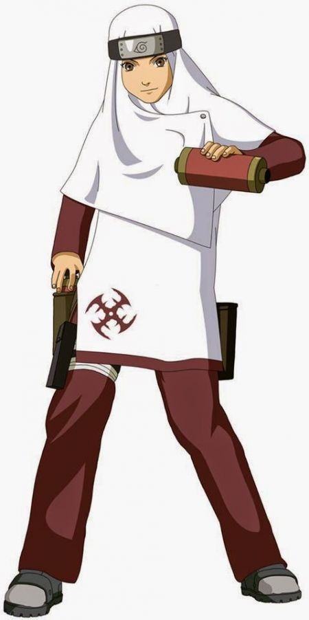 Ini dia penampakan, jika para wanita di serial Naruto berHijab ?